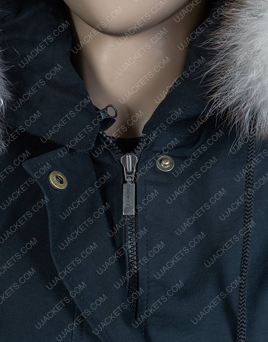 Isabela Merced Let It Snow Hooded Jacket