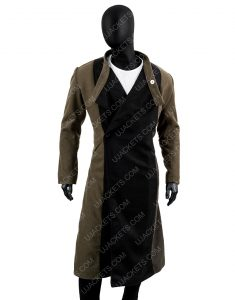 Kevin Smith Jay and Silent Bob Reboot Wool Blend Trench Coat.