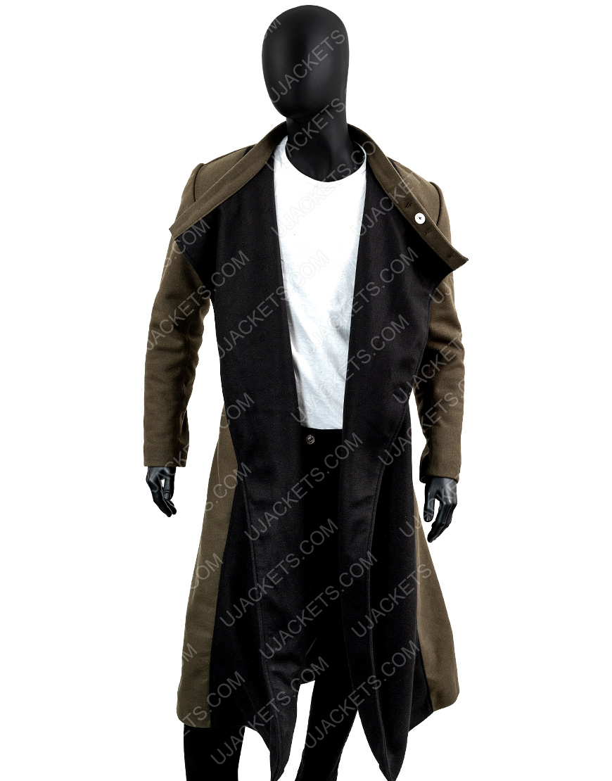 Kevin Smith Jay and Silent Bob Wool Blend Trench Coat.