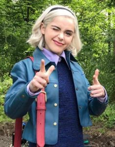 Kiernan-Shipka-Chlling-Adventures-of-Sabrina-Season-3-Blue-Jacket