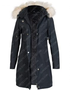 Let It Snow Jubilee Fur HoodeI Jacket