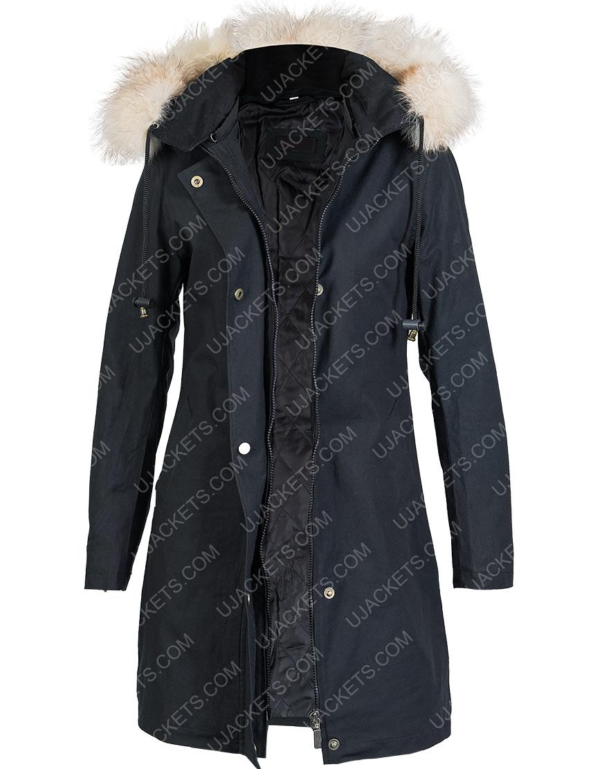 Let It Snow Jubilee Fur HoodeI Jacket