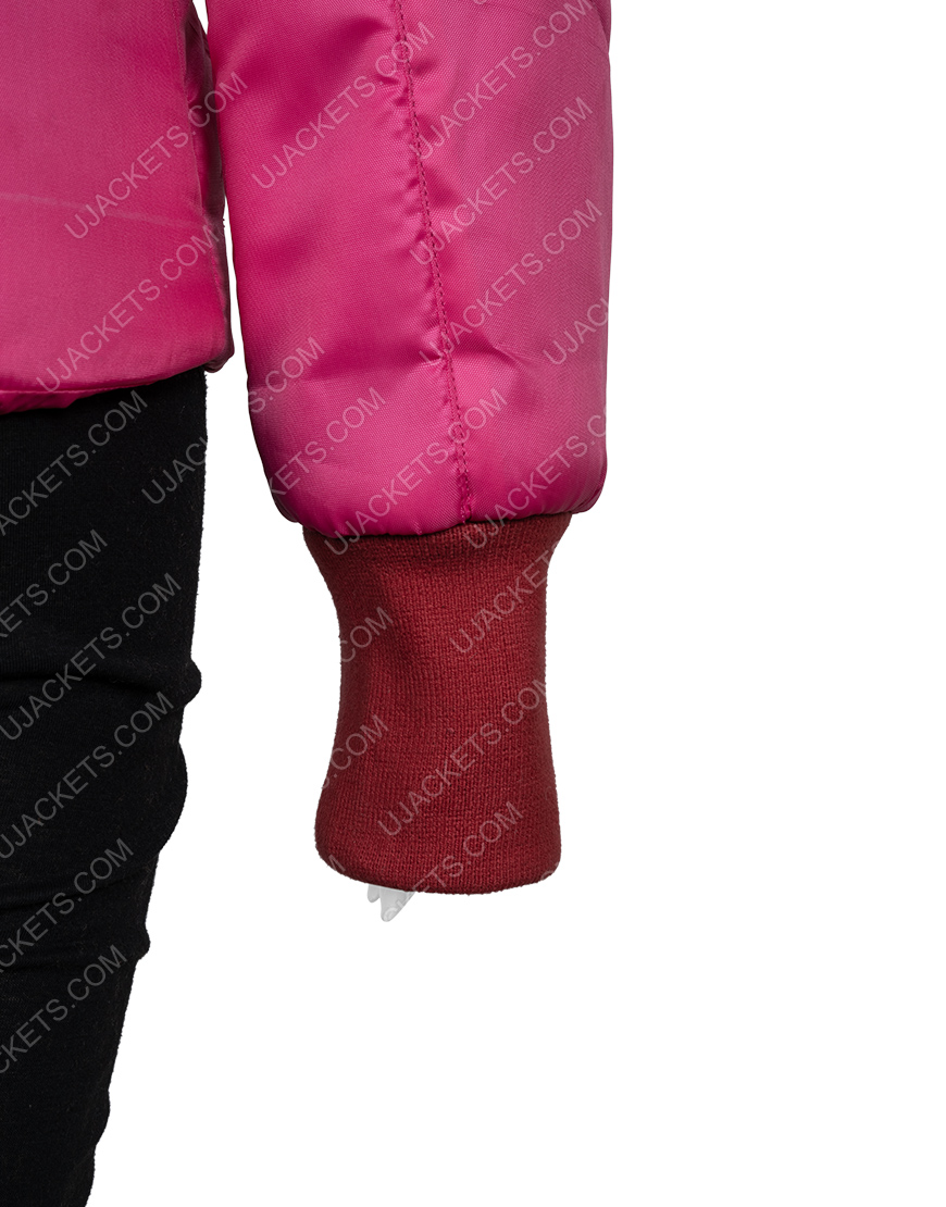 Madison Zombieland Double Tap Pink Fur Jacket
