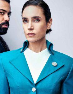 Melanie-Cavill-Snowpiercer-Blue-Coat