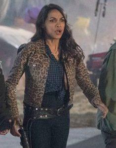 Rosario-Dawson-Zombieland-2-Double-Tap-Leopard-Skin-Coat-Jacket