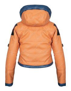 Wattson Apex Legends S02 Orange Hoodie Jacket