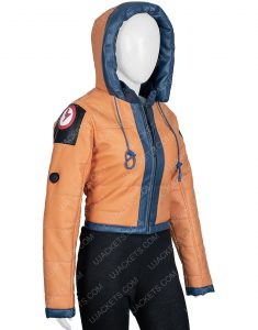 Wattson Apex Legends Season 2 Leather Hoodie Jacket