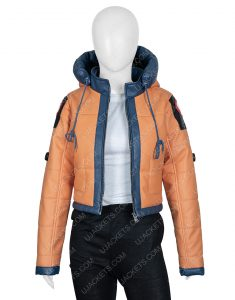 Wattson Apex Legends Season 2 Orange Leather Jacket