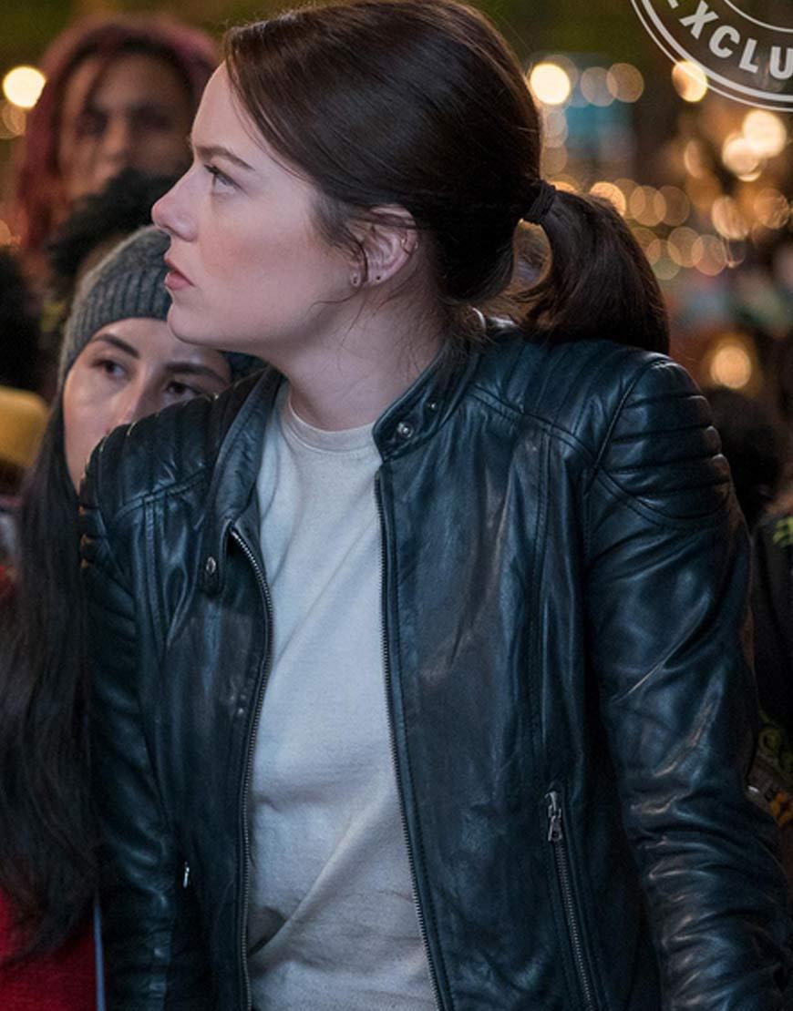 Zombieland-2-Emma-Stone-Wichita-Krista-Leather-Jacket