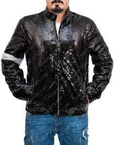 Billie Jeans Sequin Jacket Michael Jackson