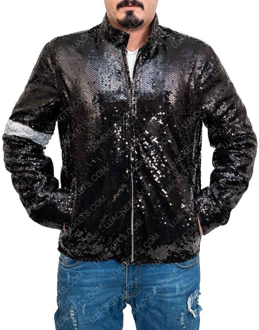 Billie Jeans Sequin Jacket Michael Jackson