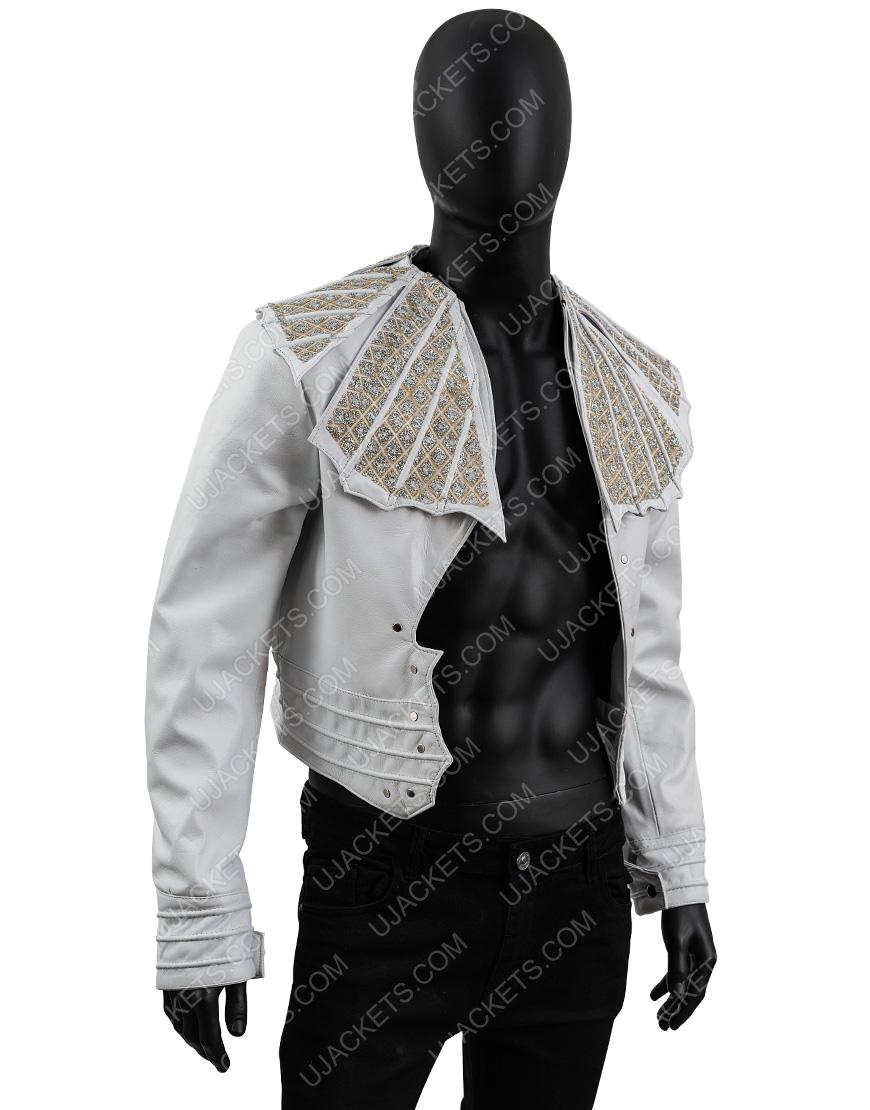 Bohemian Rhapsody Angry Lizard Rami Malek Leather Jacket