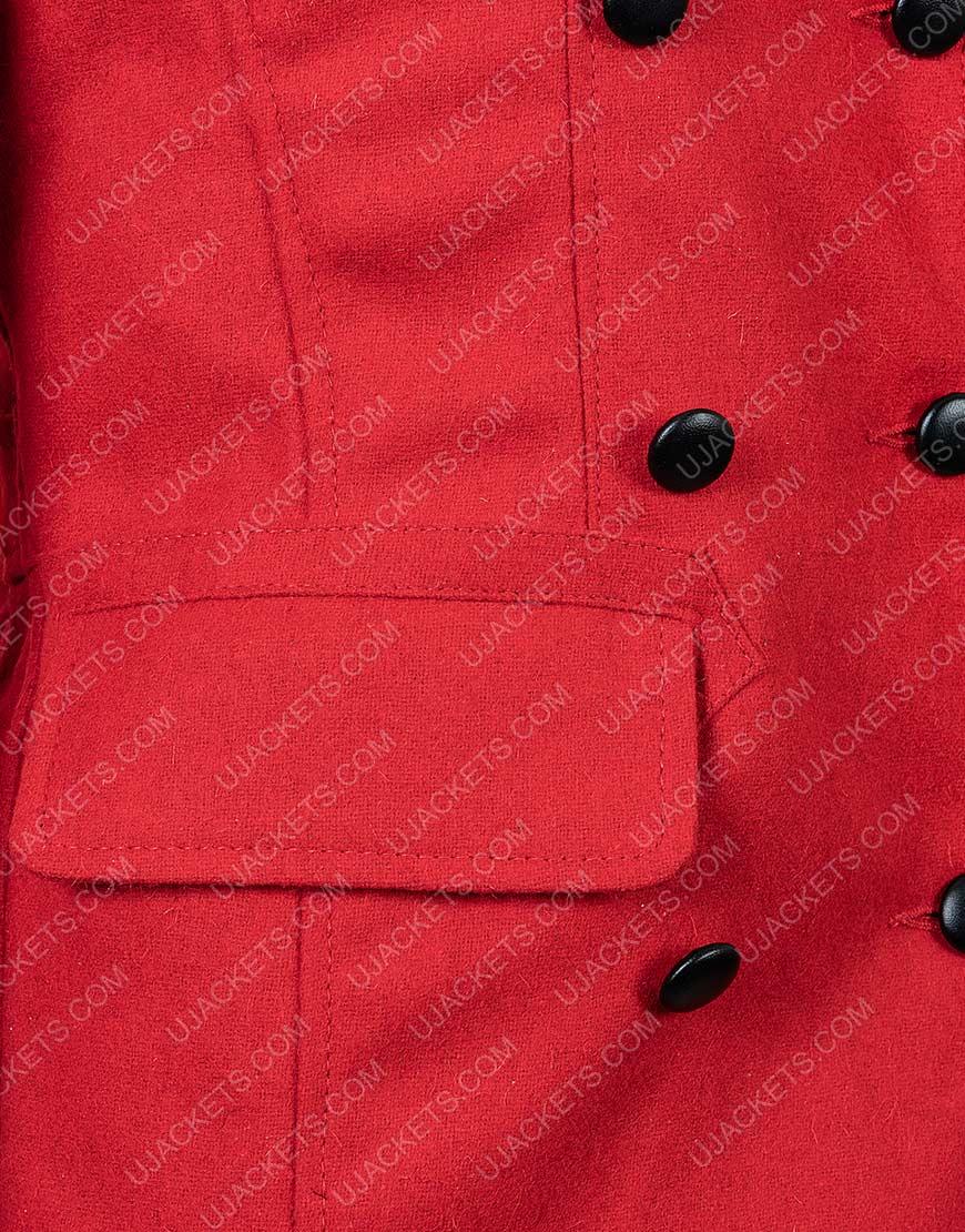 Christmas in Love Brooke Red Coat