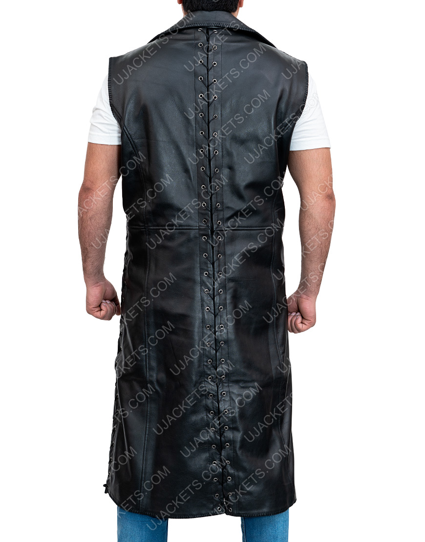 Devil May Cry 5 Leather Vest Coat