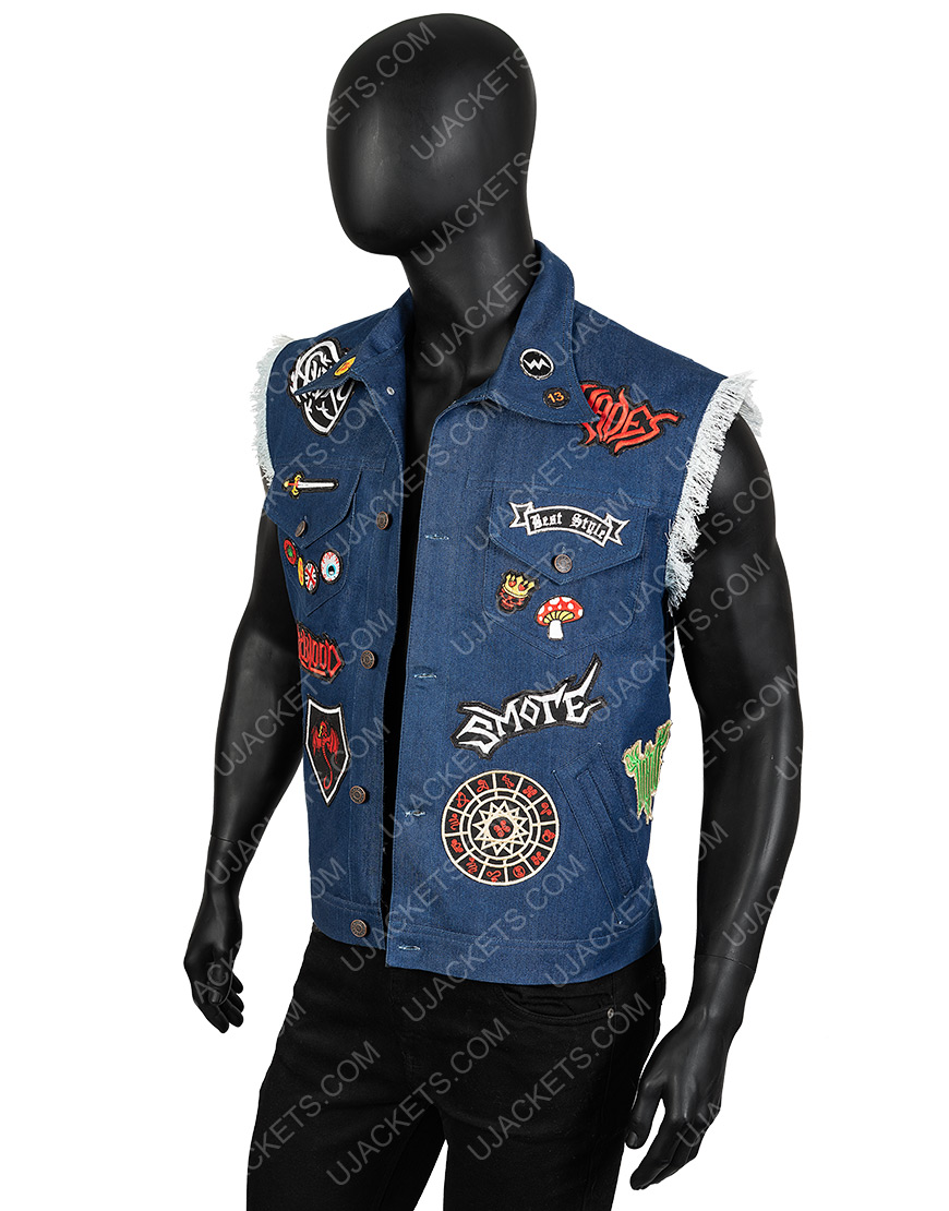Disney Onward Barley Denim Vest