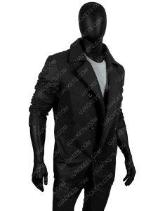 Douglas Henshall Shetland DI Jimmy Perez Wool Blend Coat