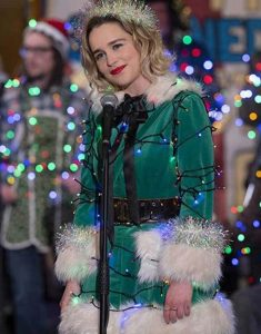 Emilia-Clarke-Green-Jacket-Last-Christmas