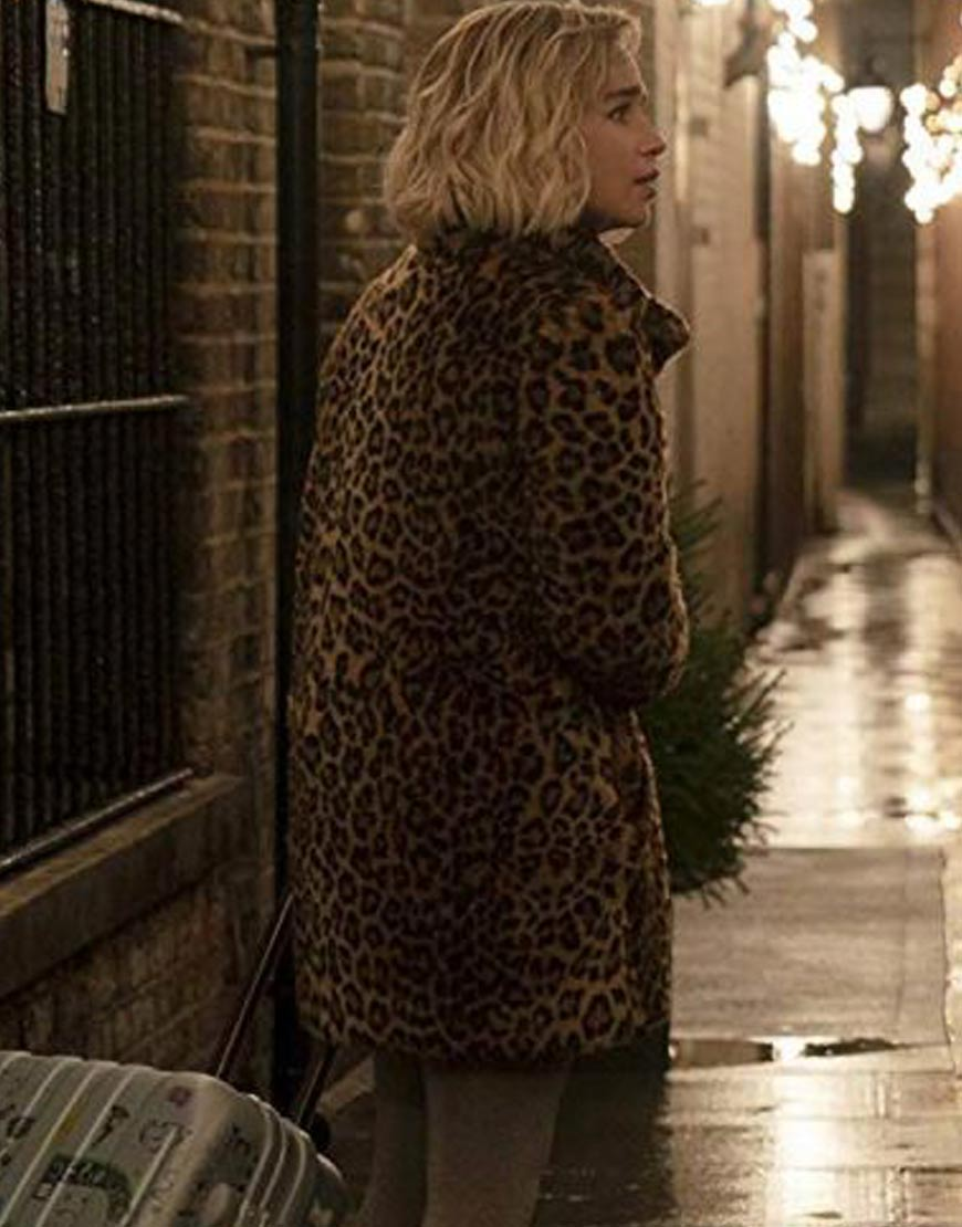 Emilia-Clarke-Last-Christmas-Printed-Coat