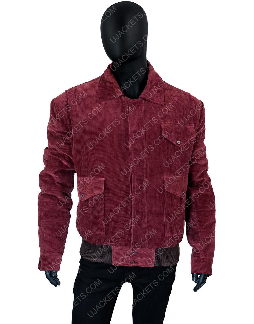 Jack Nicholson The Shining Jack Torrance Red Corduroy Jacket