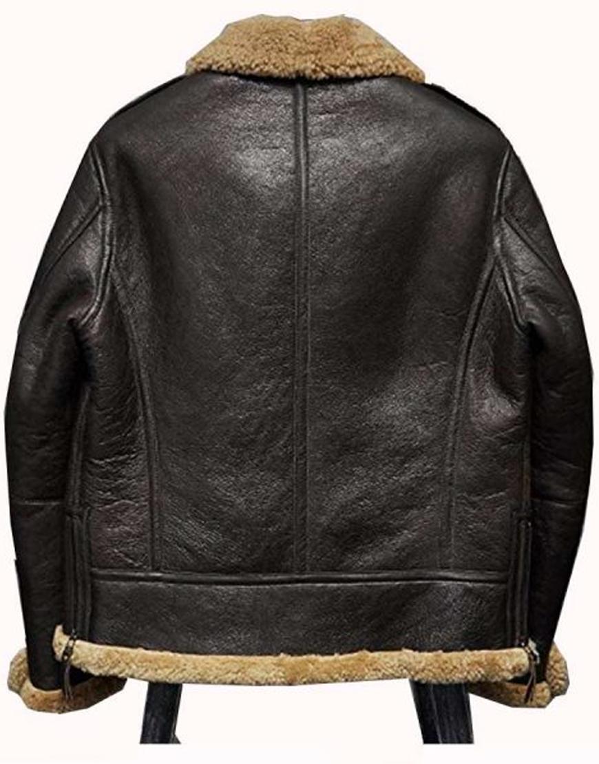 Jeffrey Mundell A2 Flight Bomber Leather Jacket