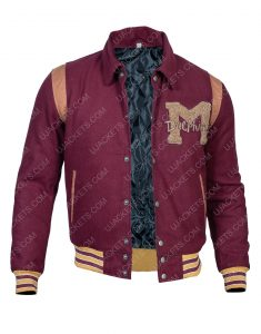 Kedar Williams Stirling Sex Education Letterman Jacket