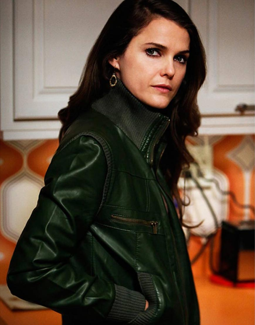 Keri-Russell-The-Americans-Bomber-Green-Jacket