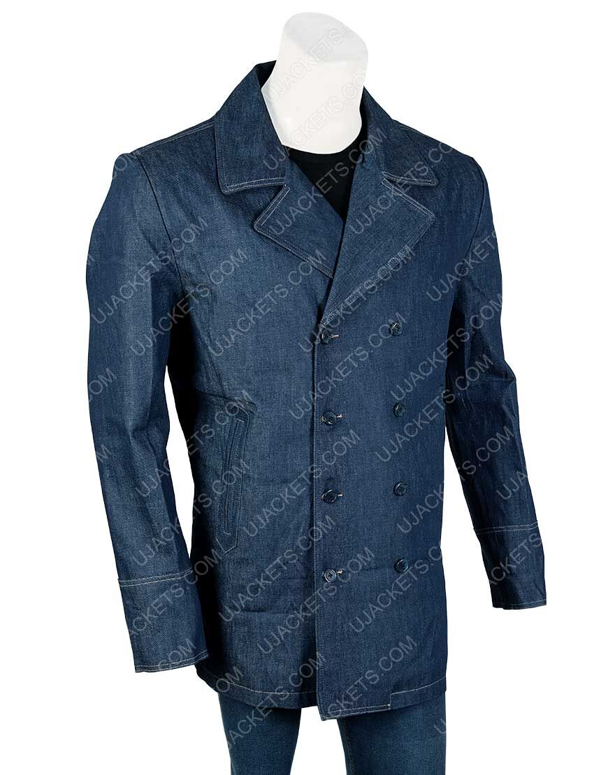 Killing Eve Kim Bodnia Denim Coat