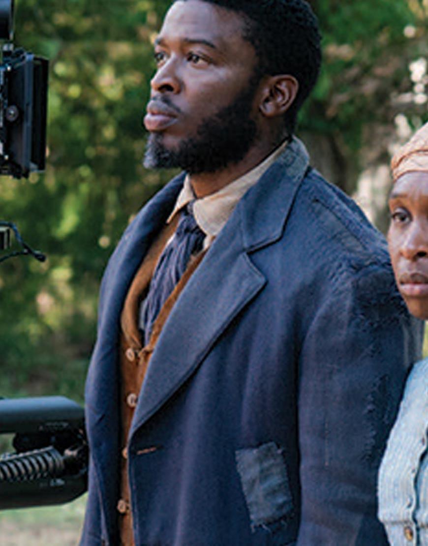 Leslie-Odom-Jr.-Harriet-William-Still-Wool-Blend-Blue-Long-Coat