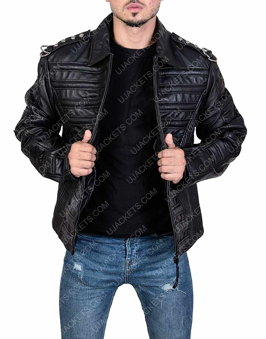 Michael Jackson Will you be There Leather Jacket