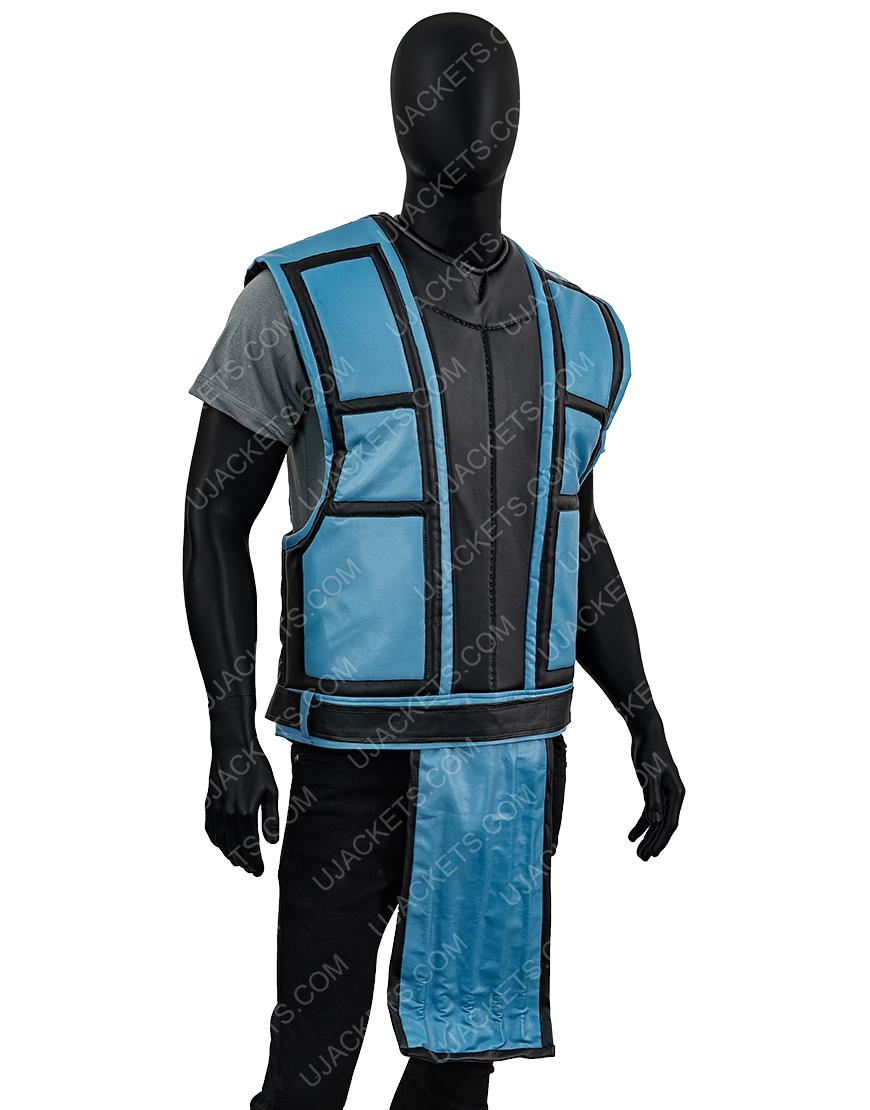 Mortal Kombat Sub Zero Black and Blue Vest