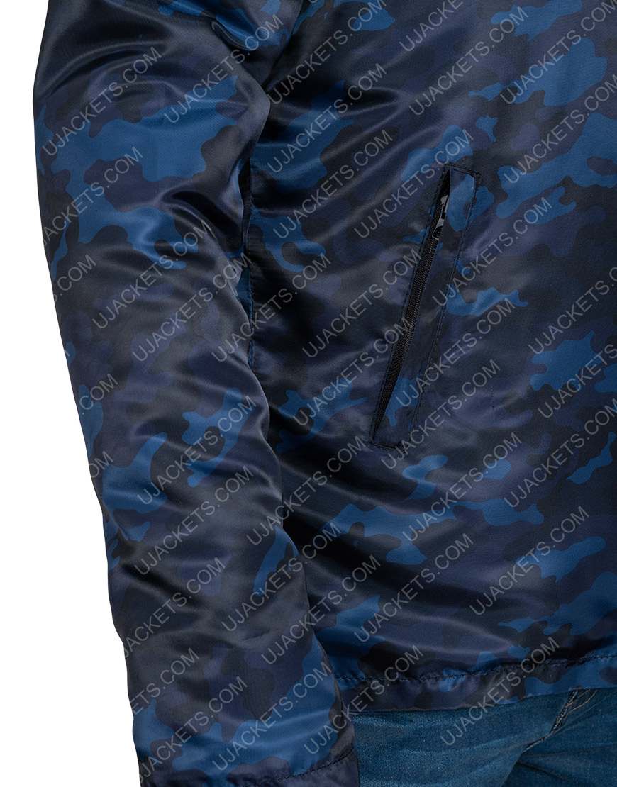 Nick E. Tarabay The Expanse Black Polyester Jacket