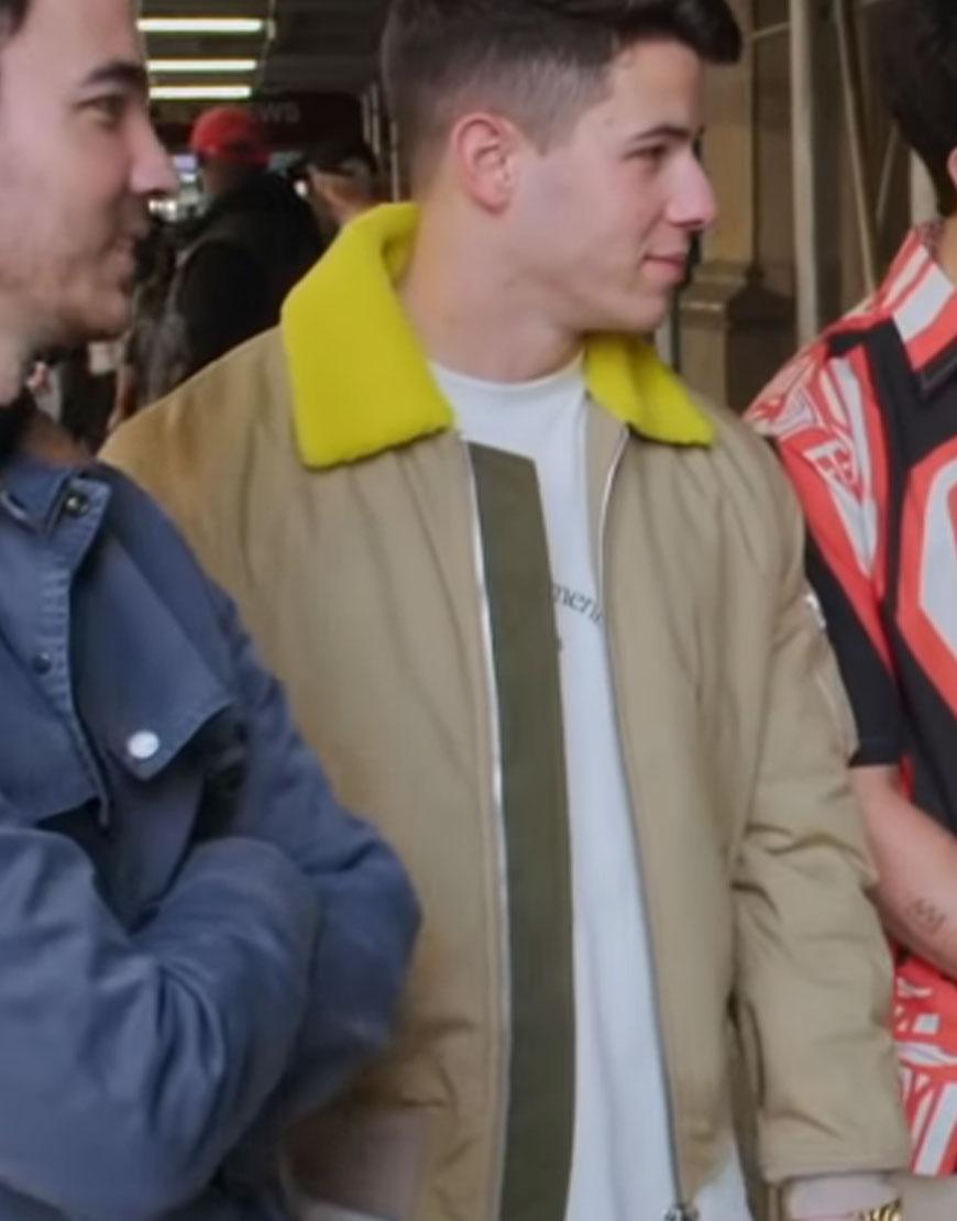 Nick-Jonas-Billy-on-the-Street-Polyester-Yellow-Jacket