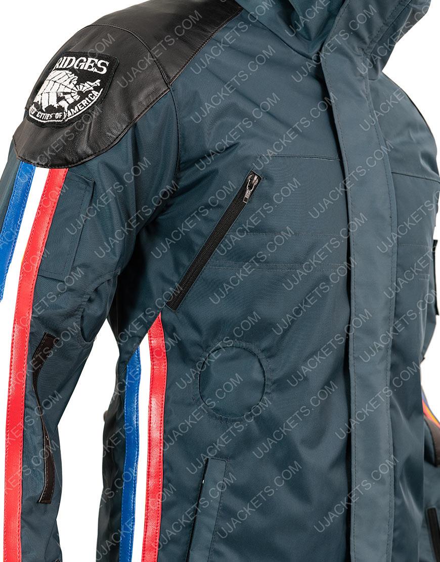 Norman Reedus Death Stranding Polyester Waterproof Blue Jacket