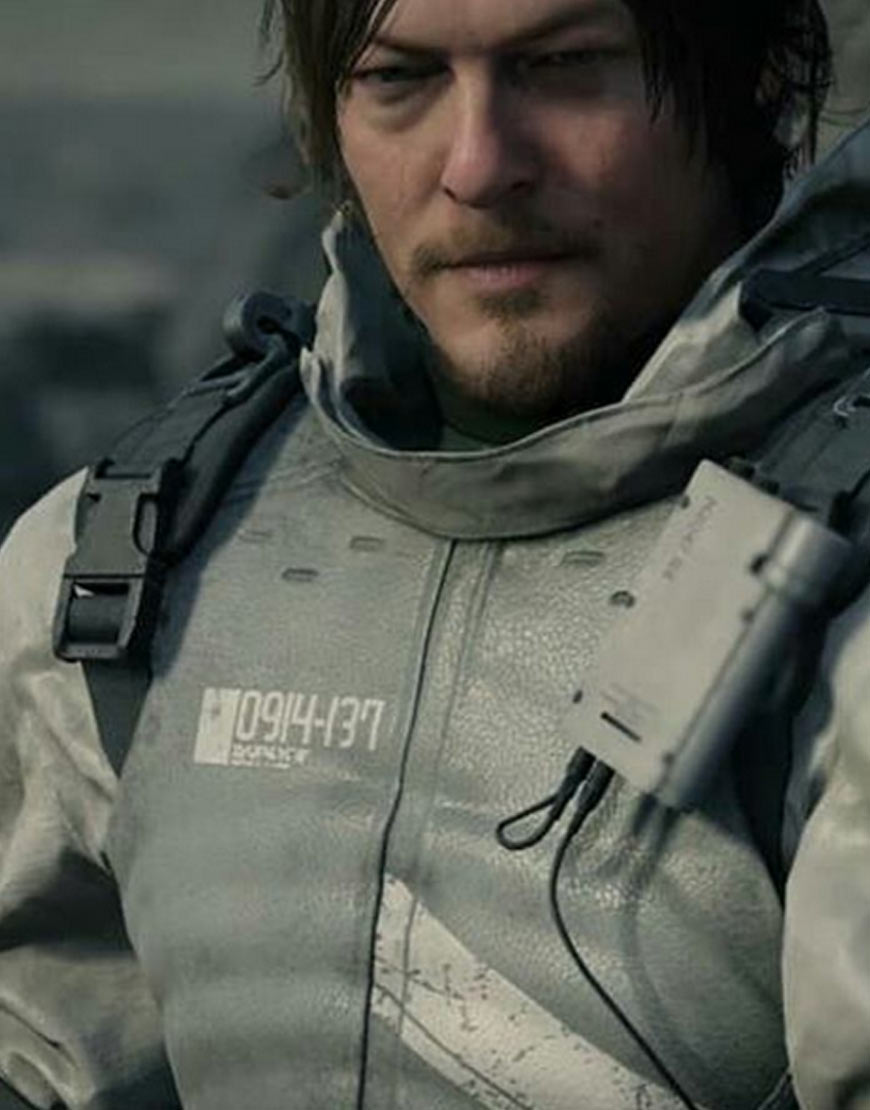 Norman-Reedus-Death-Stranding-Sam-Porter-PU-Leather-Jacket-with-Hood