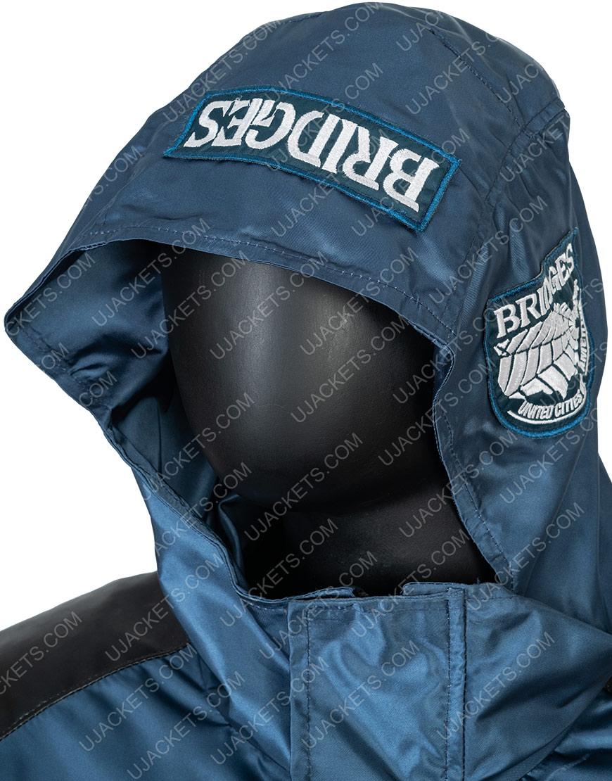 Norman Reedus Death Stranding Sam Porter Polyester Blue Jacket