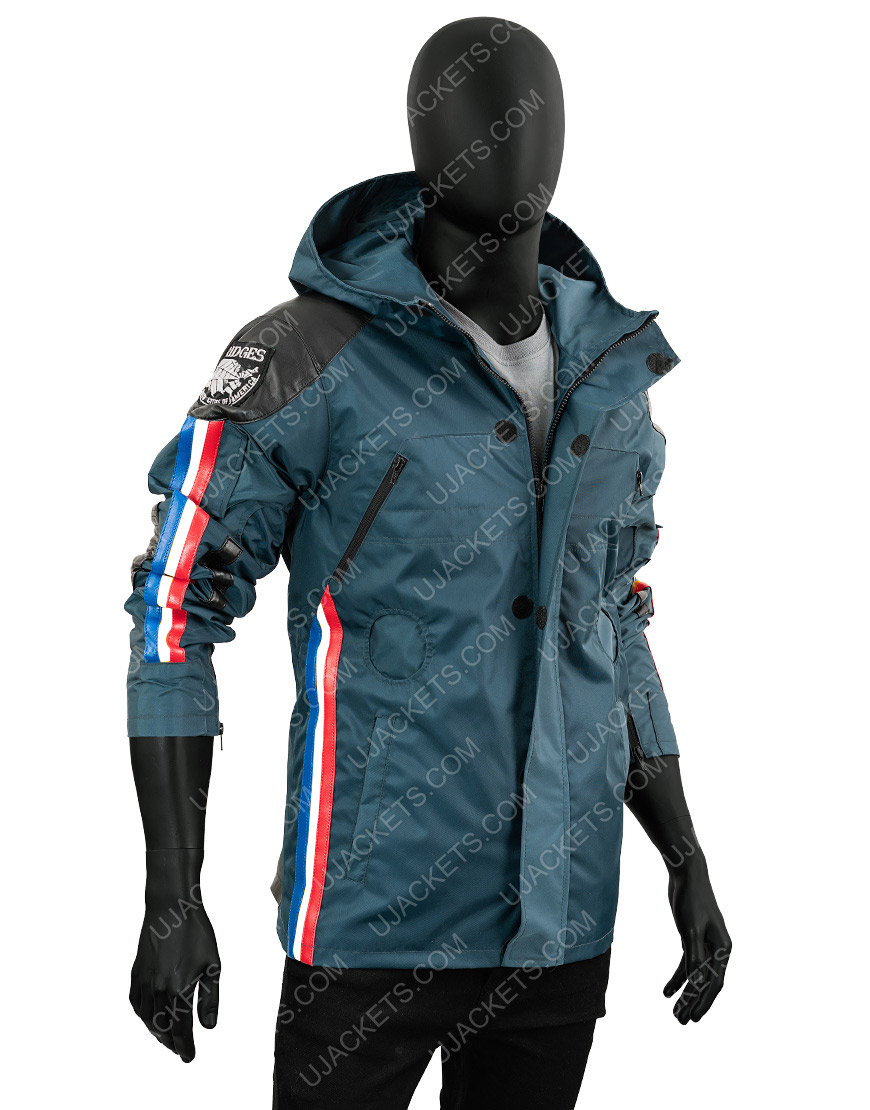 Norman Reedus Death Stranding Sam Porter Polyester Waterproof Jacket