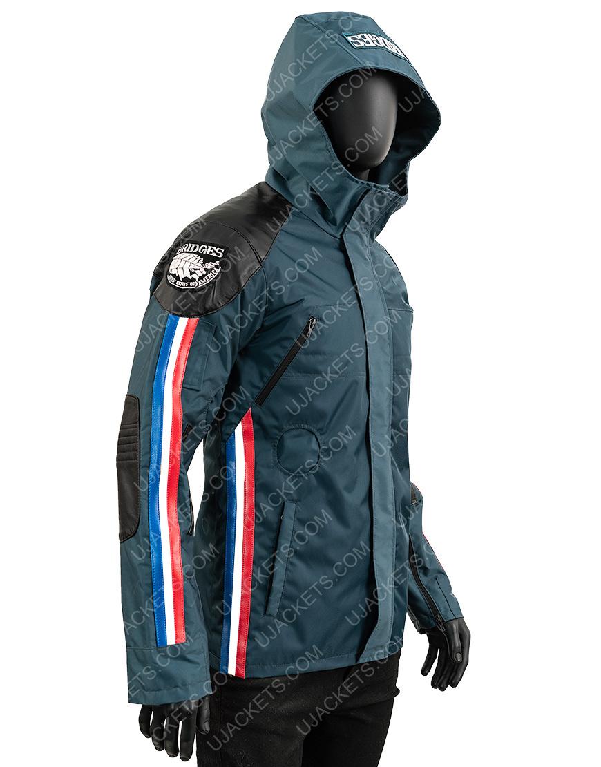 Norman Reedus Death Stranding Sam Porter Waterproof Blue Jacket