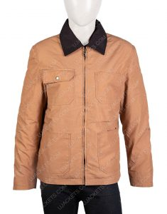 Orange Is The New Black Cotton Brown Field Jacket