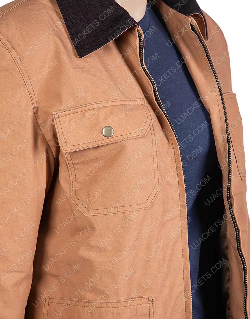 Orange Is The New Black Cotton Field Jacket