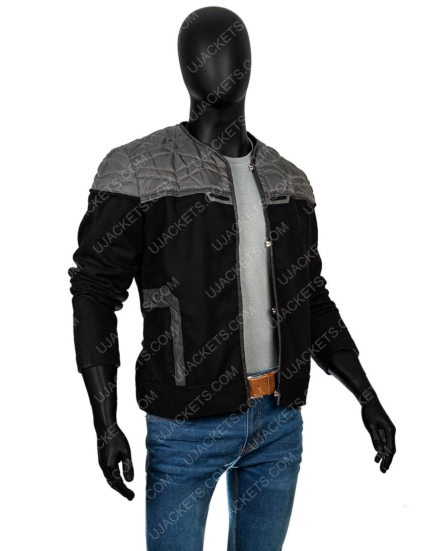 Patrick Stewart Star Trek Jean Lu Picard Black Jacket