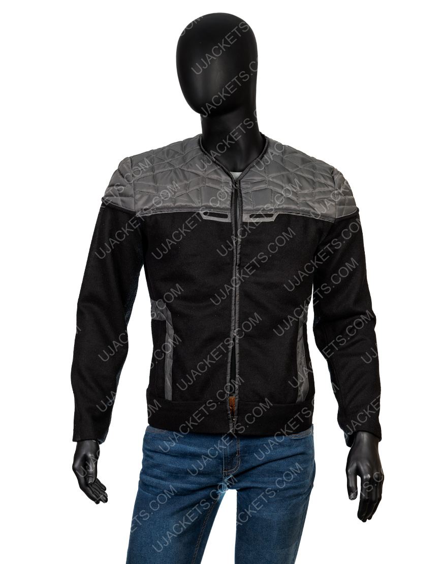 Patrick Stewart Star Trek Jean Lu Picard Cotton Jacket