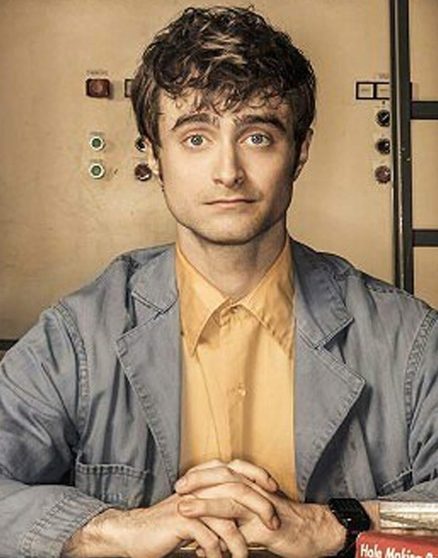 Radcliffe-Miracle-Workers-Craig-Bog-Long-Denim-Jacket