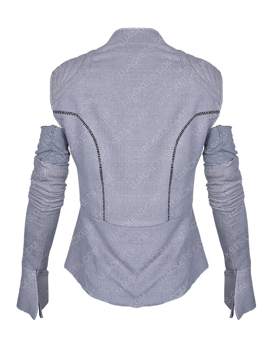Rey Star Wars Resistance Grey Vest with Sleeves