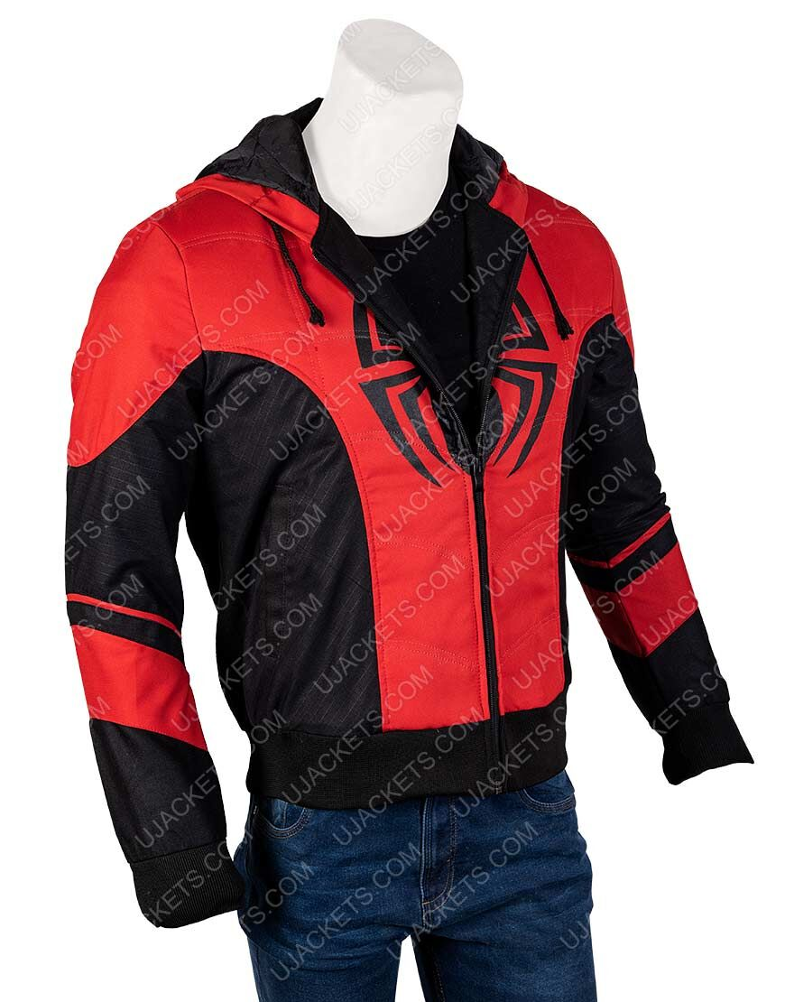 Spider-Man Far From Home Red Hoodie