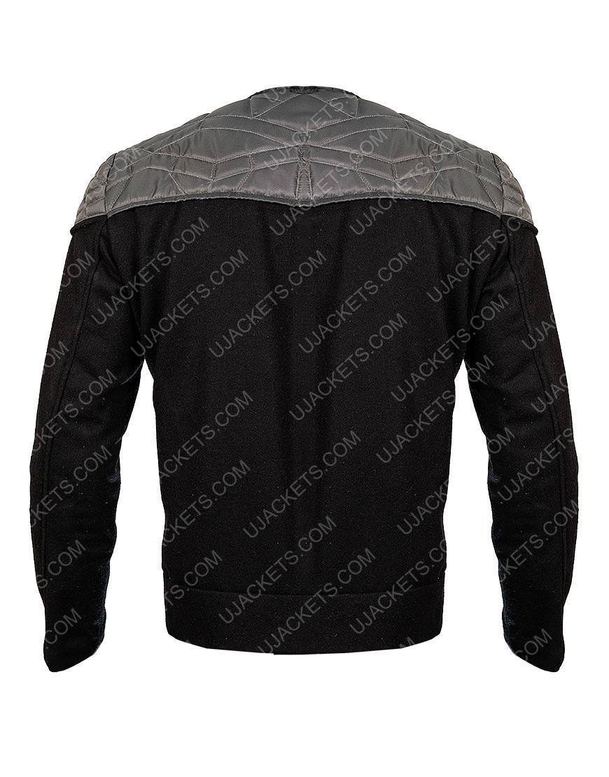 Star Trek Jean Lu Picard Black Jacket