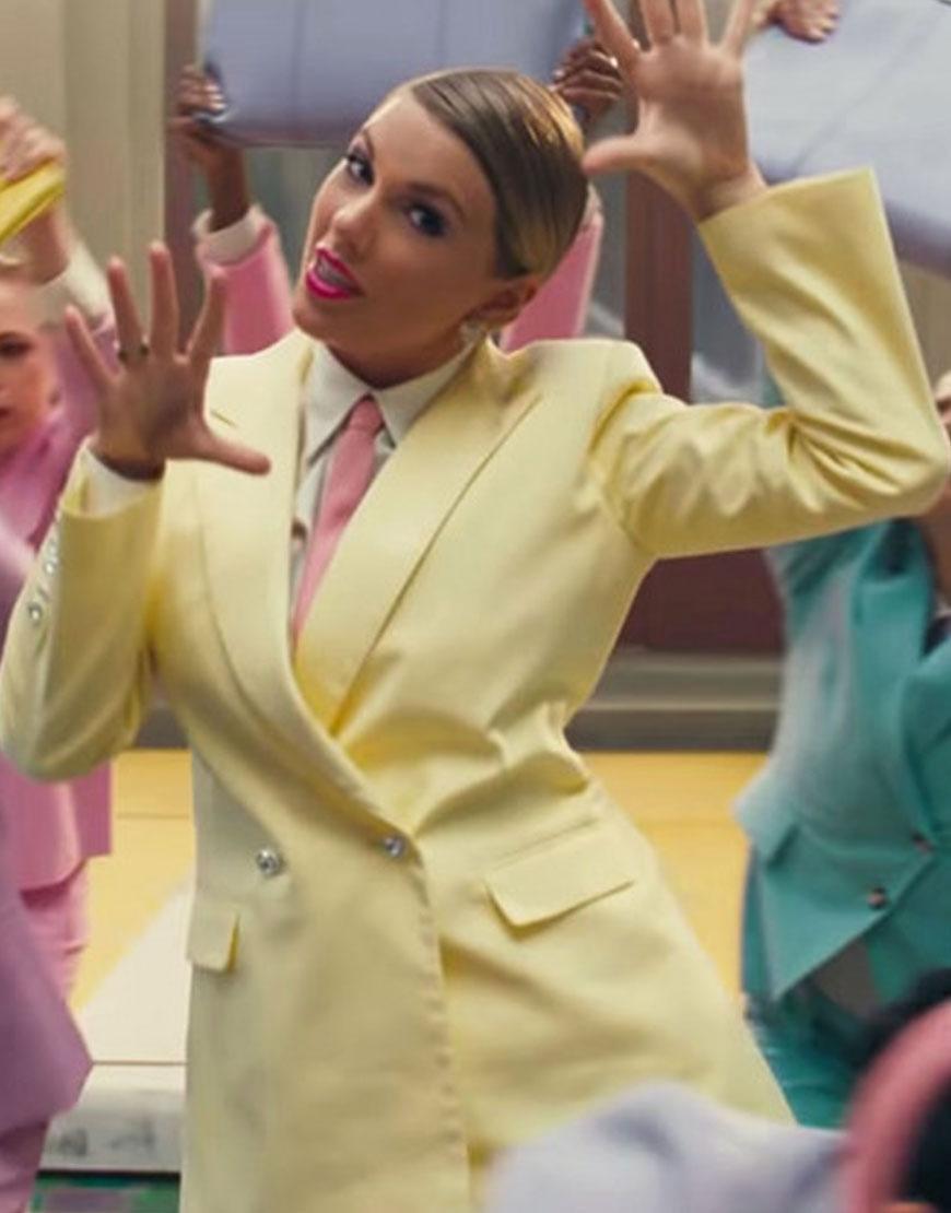 Taylor-Swift-Me-Yellow-Blazer-Coat