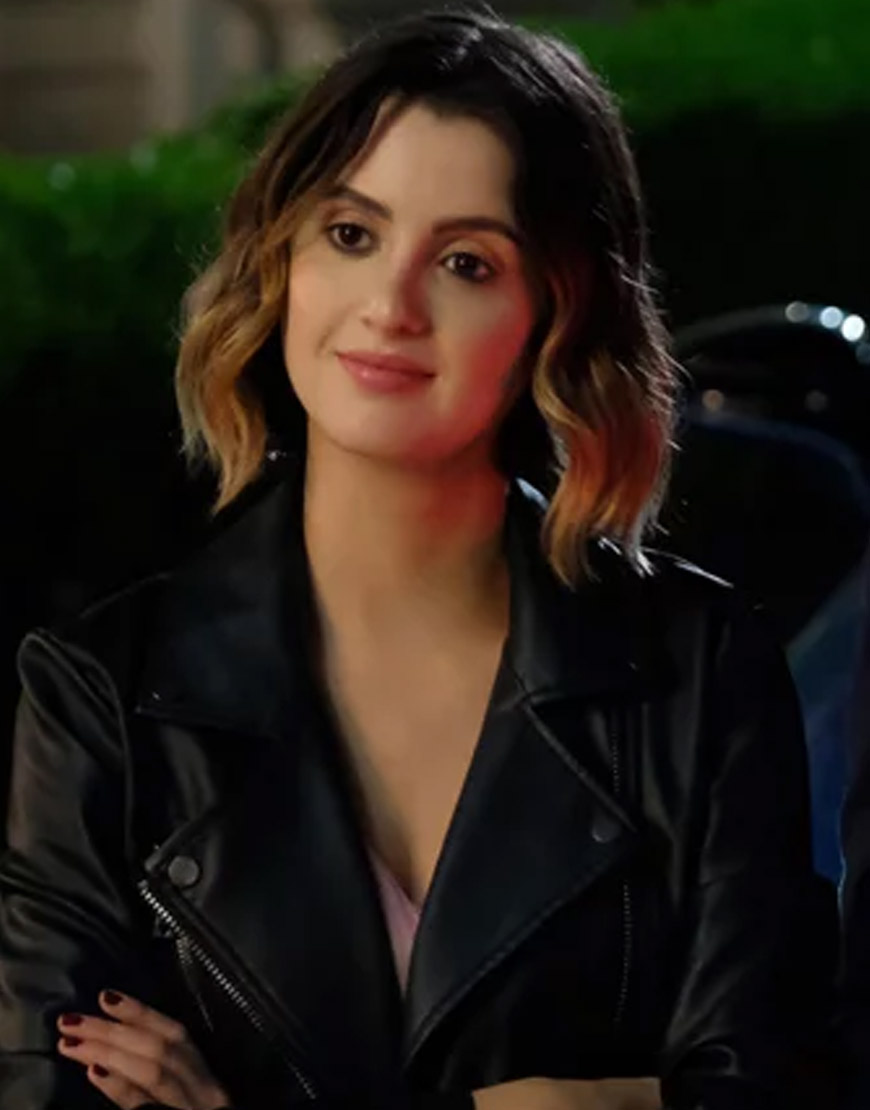 The-Perfect-Date-Laura-Marano-Black-Jacket