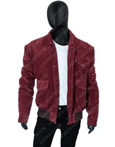 The Shining Jack Torrance Red Corduroy Jacket
