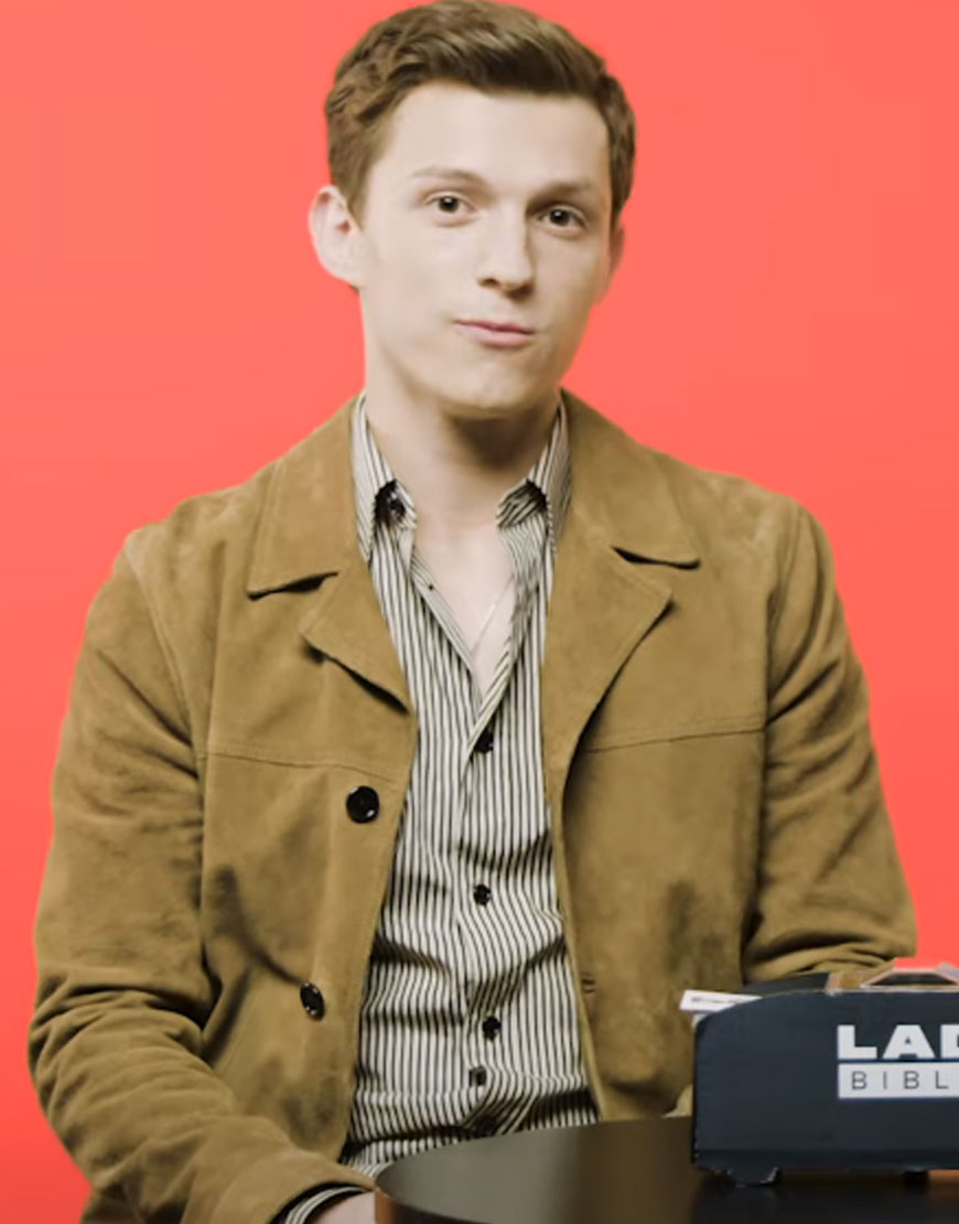 Tom-Holland-Brown-Coat