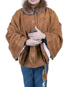 Vanessa Hudgens The Knight Before Christmas Brooke Brown Woolen Coat